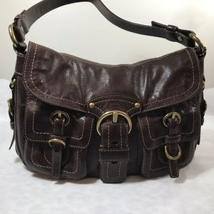 Coach Chocolate Leather Bag